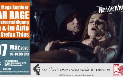 Car Rage – Angriffe im und am Auto